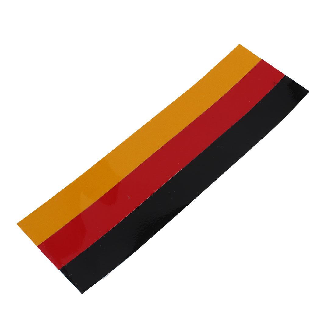 Red Black Yellow Germany Flag Pattern Jeep Car Reflective Decal Sticker