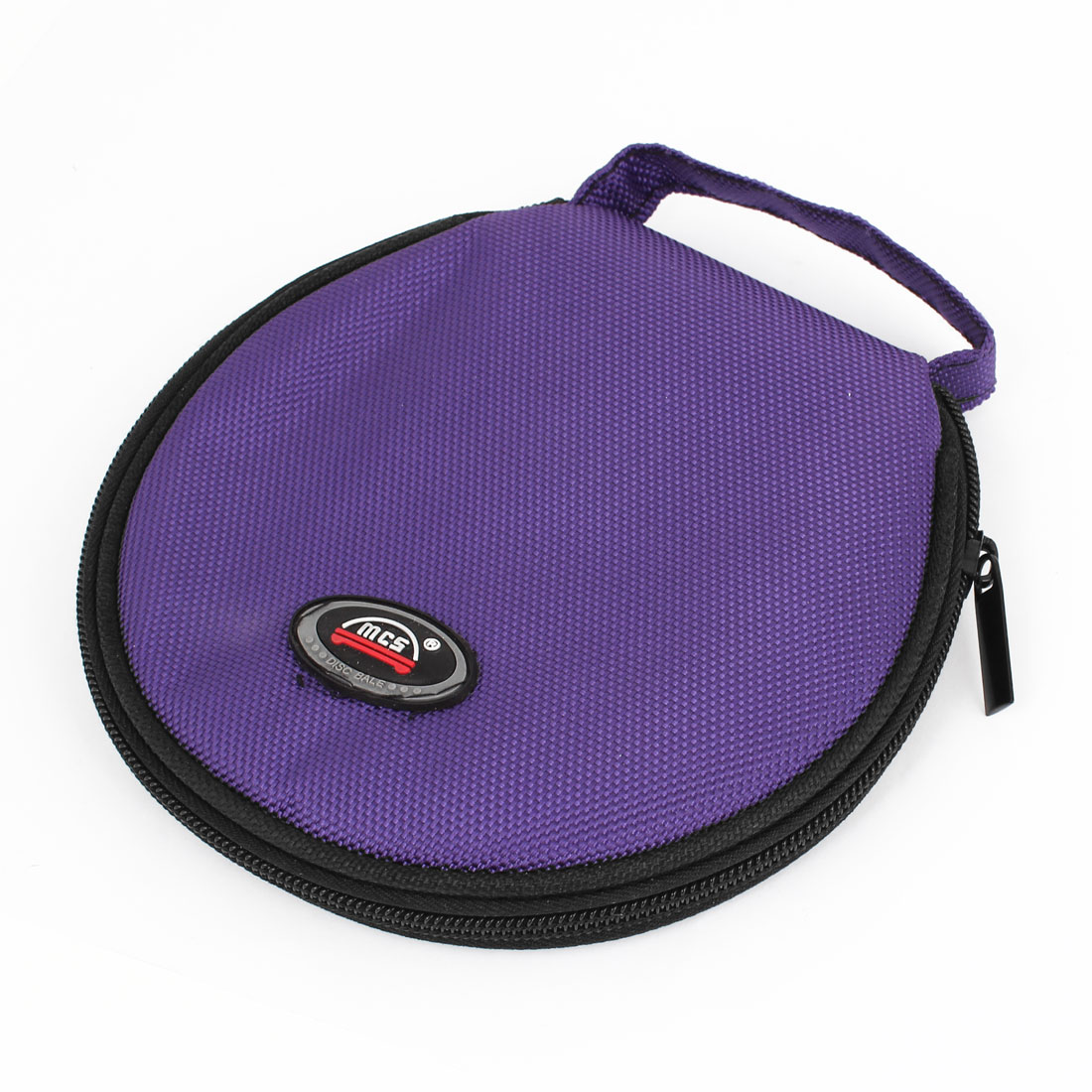 Car Universal Purple Oxford Fabric Cover 20 Capacity CD Holder Wallet Bag Case