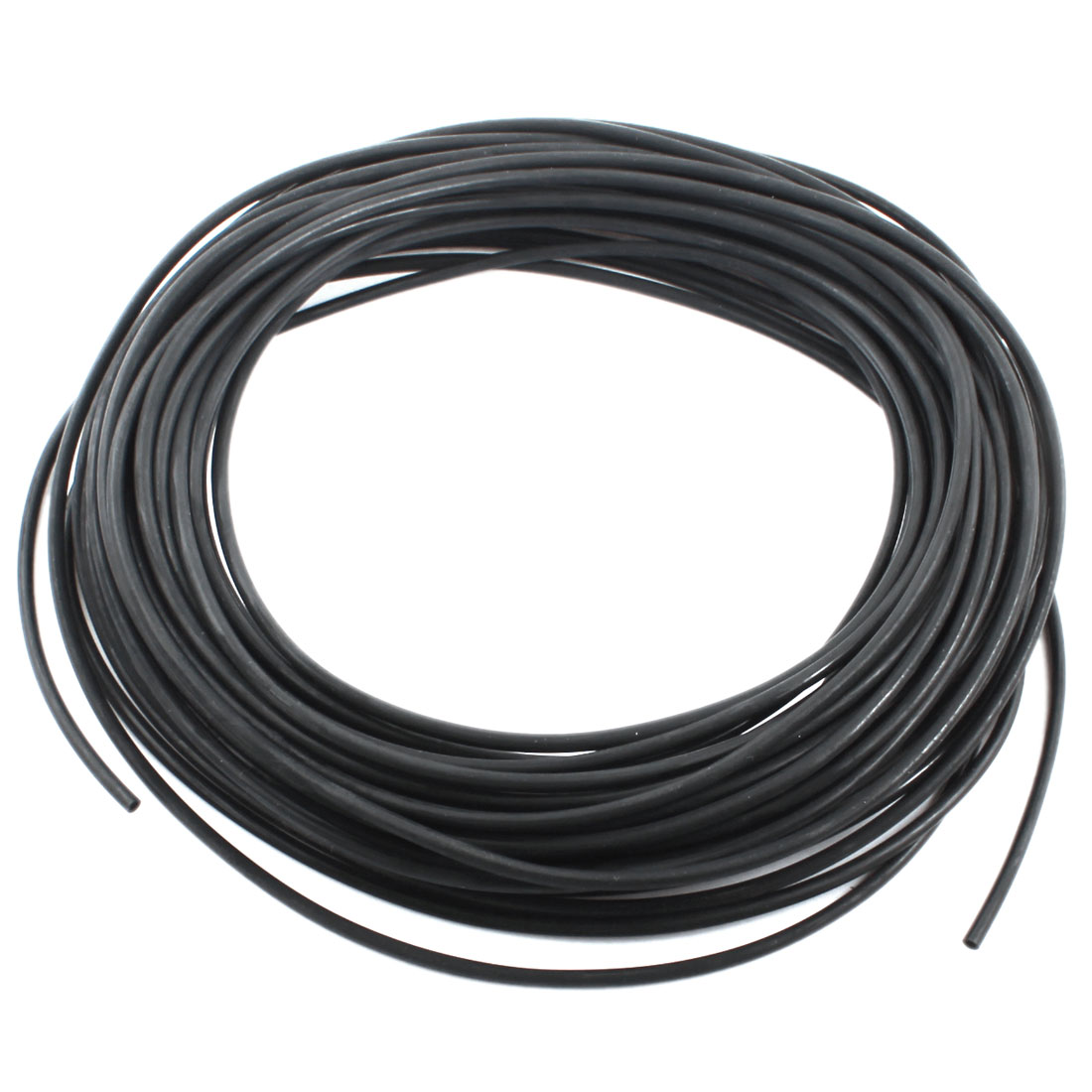 25M/82Ft Long 2.5mmx4mm Fuel Gas Petrol Diesel Flexible Air PU Tube Pneumatic Pipe Hose Black