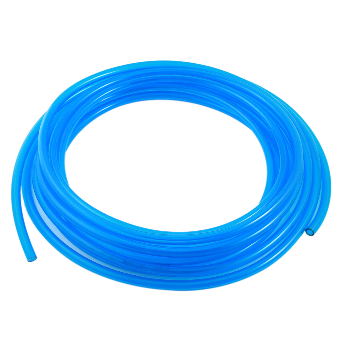 Blue Polyurethane 6.5mm x 10mm 10M/33ft Long Flexible Air PU Tubing Pneumatic Pipe Tube Hose