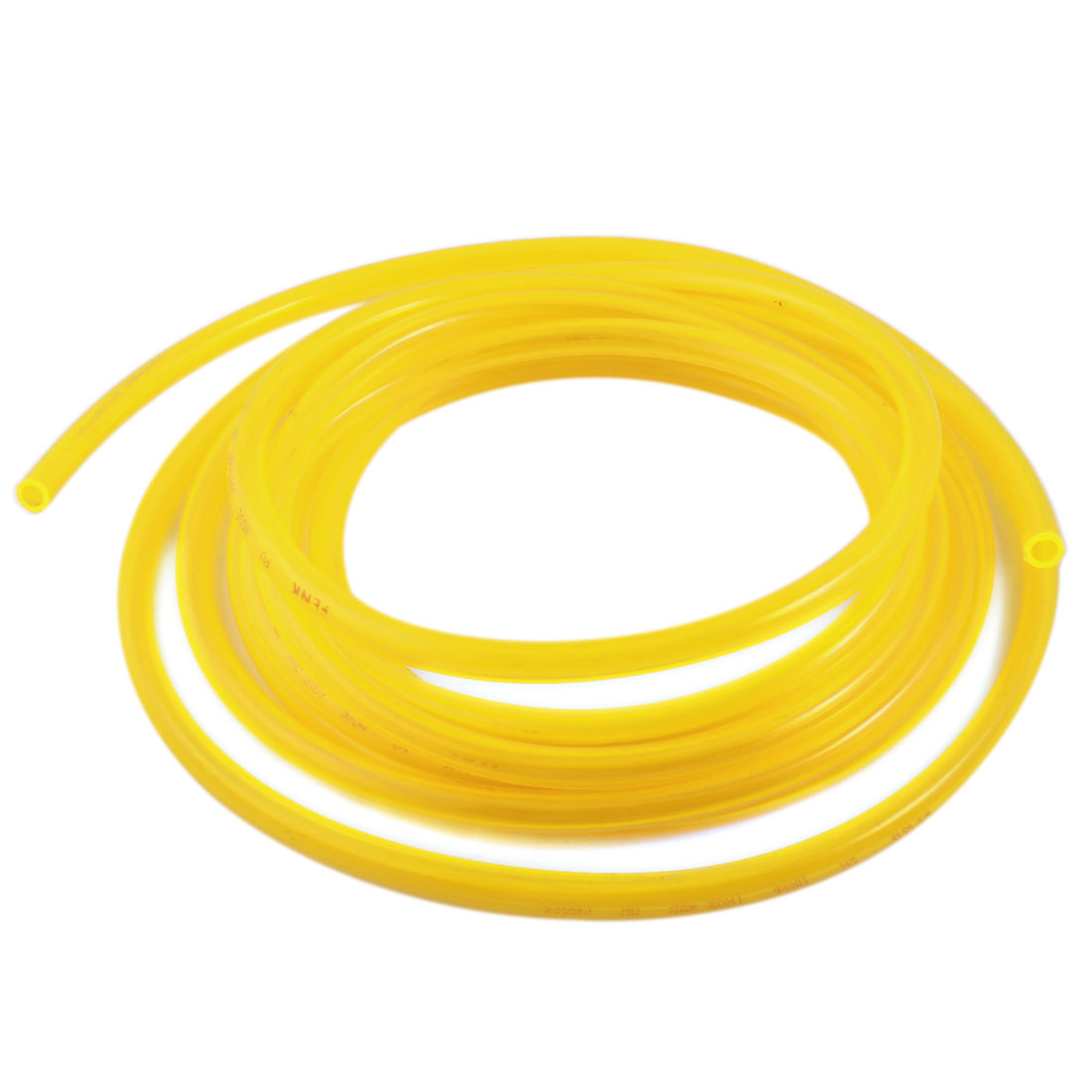5m 6.5x10mm Air Compressor Fuel Gas Petrol Diesel PU Line Tube Hose Clear Yellow