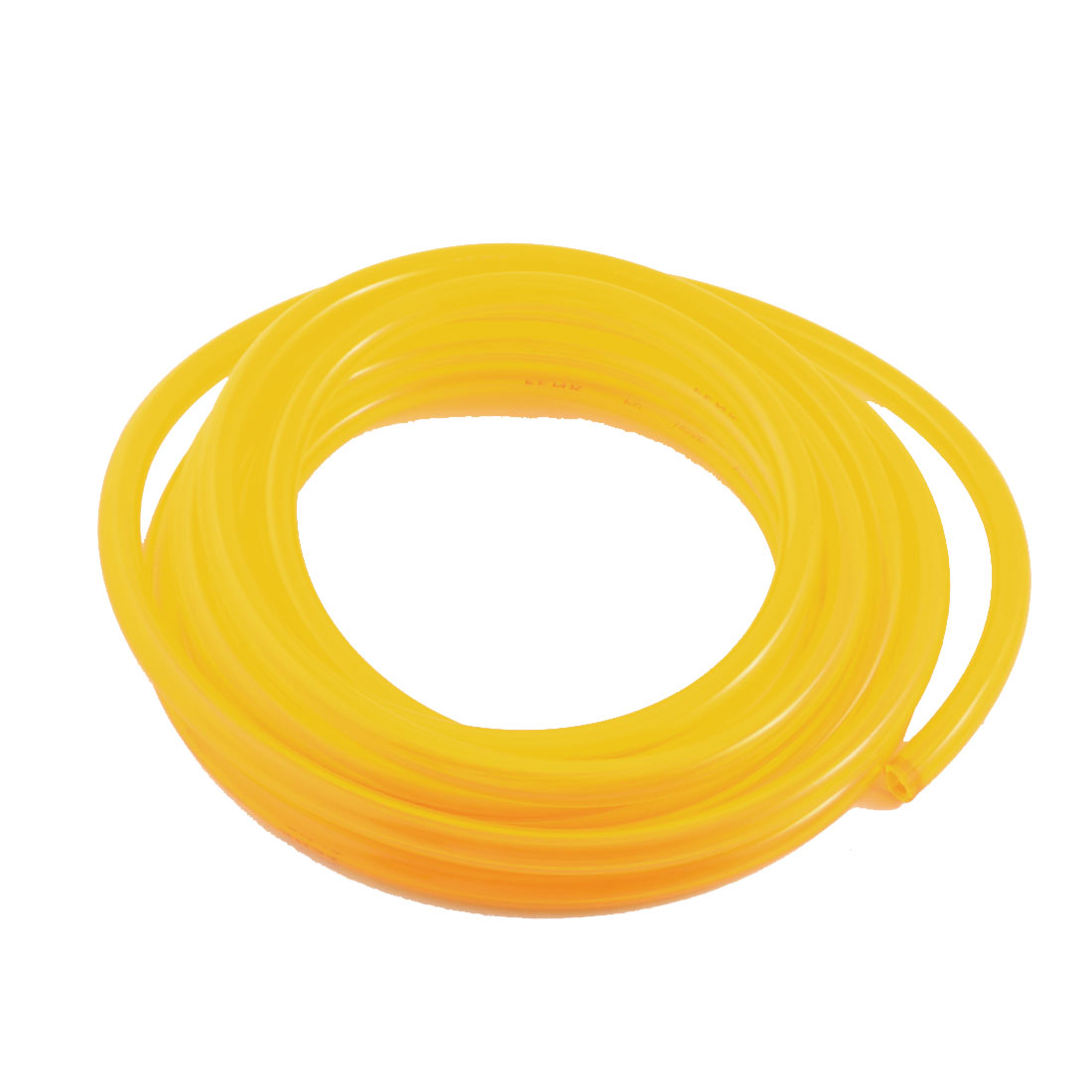 33Ft 8x12mm Air Compressor Fuel Gas Petrol Diesel PU Line Tube Hose Clear Yellow