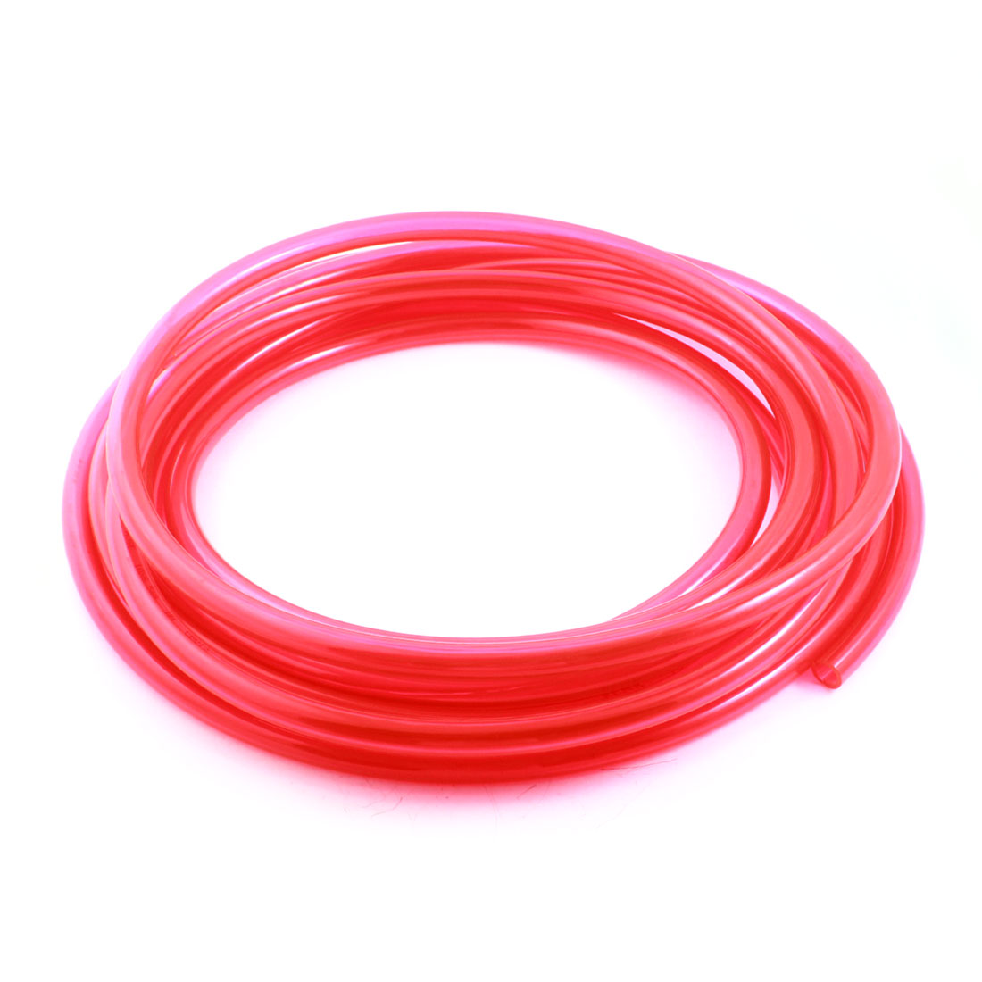 5M 6.5x10mm Air Compressor Fuel Gas Petrol Diesel PU Line Tube Hose Clear Red