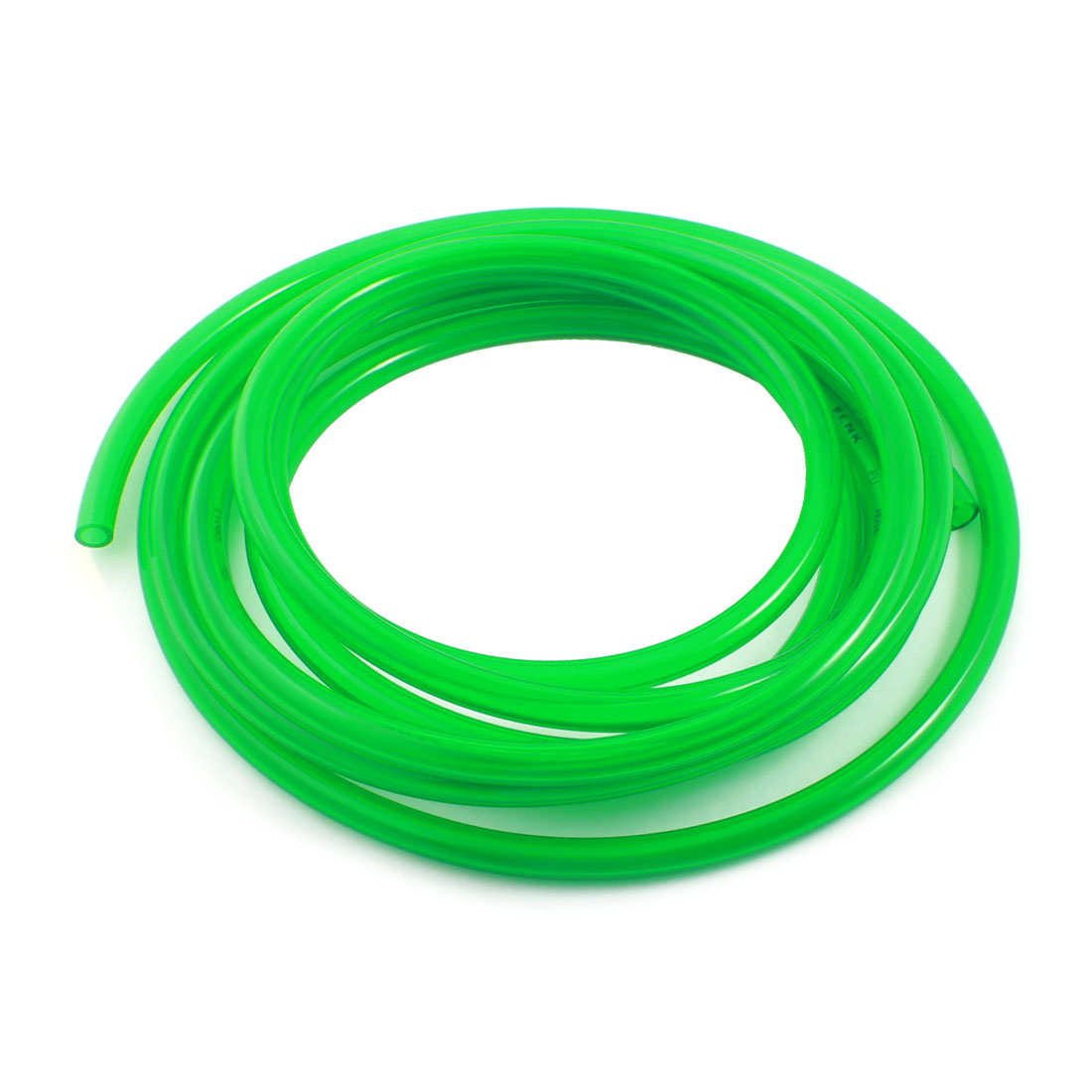 Engine Gas Fuel Oil Injection PU Line Tubing Tube 8mmx12mm 5Meter Clear Green