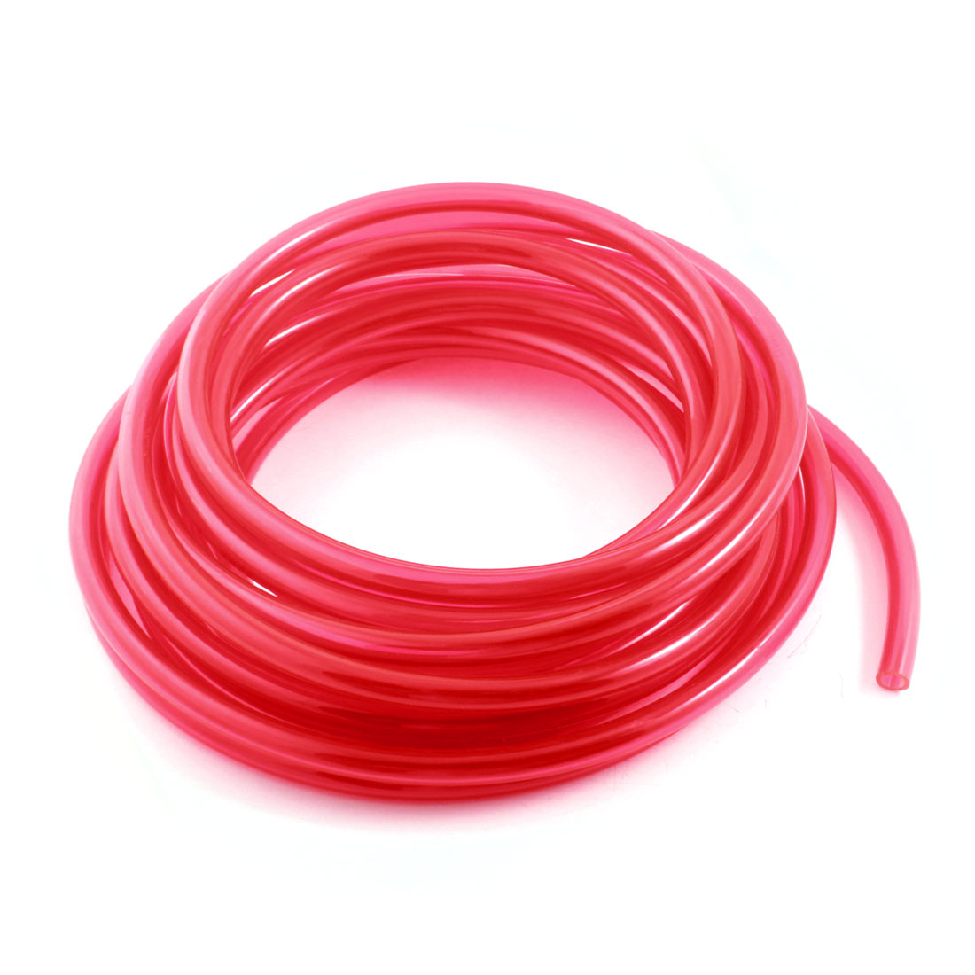 33Ft 6.5x10mm Air Compressor Fuel Gas Petrol Diesel PU Line Tube Hose Clear Red