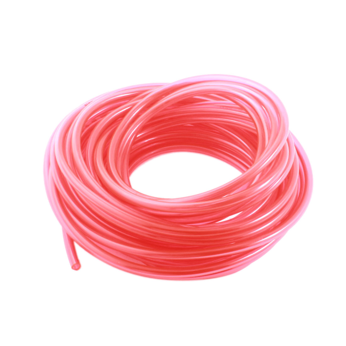 33Ft 4x6mm Air Compressor Fuel Gas Petrol Diesel PU Line Tube Hose Clear Red