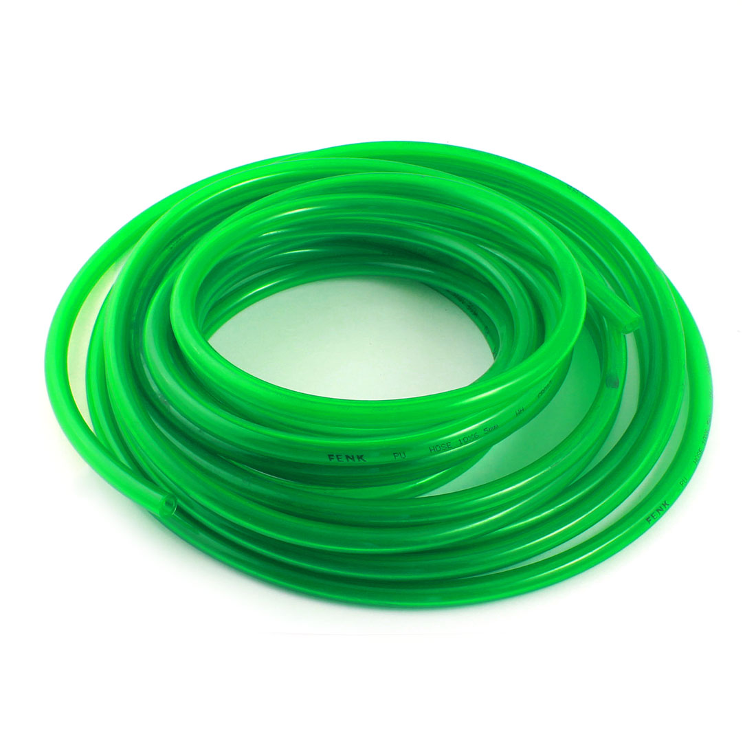 Air Compressor Gas Fuel Oil Injection PU Line Tube 6.5x10mm 33Ft Clear Green