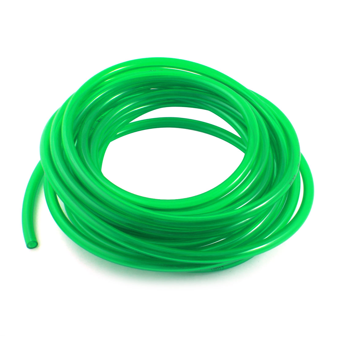 Engine Gas Fuel Oil Injection PU Line Tubing Tube 6.5mmx10mm 33Ft Clear Green