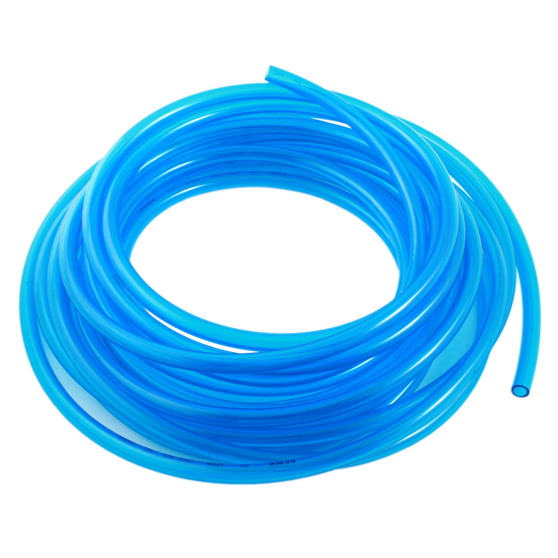 Air Gas Quick Fittings Connection PU Line Tube Hose 6.5x10mm 10M Clear Blue