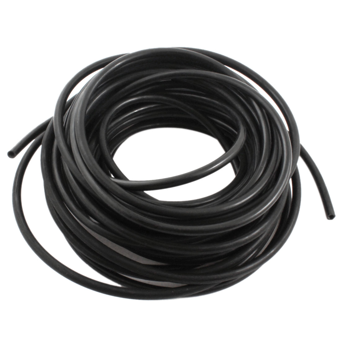 Engine Gas Fuel Oil Injection PU Line Tubing Tube 4mmx6mm Dia 5M Black