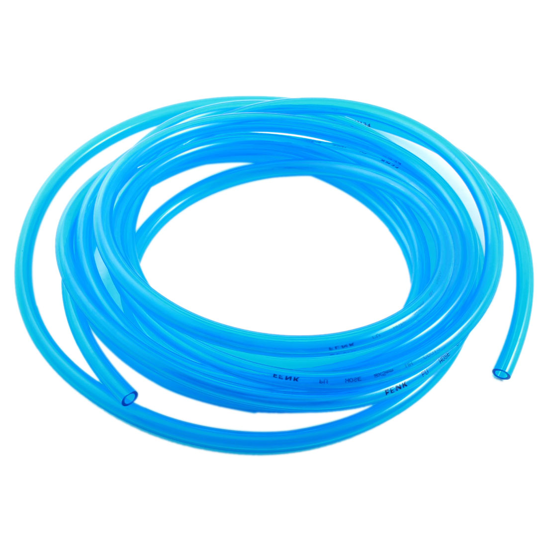 5Meter 5x8mm Air Compressor Fuel Gas Petrol Diesel PU Line Tube Hose Clear Blue