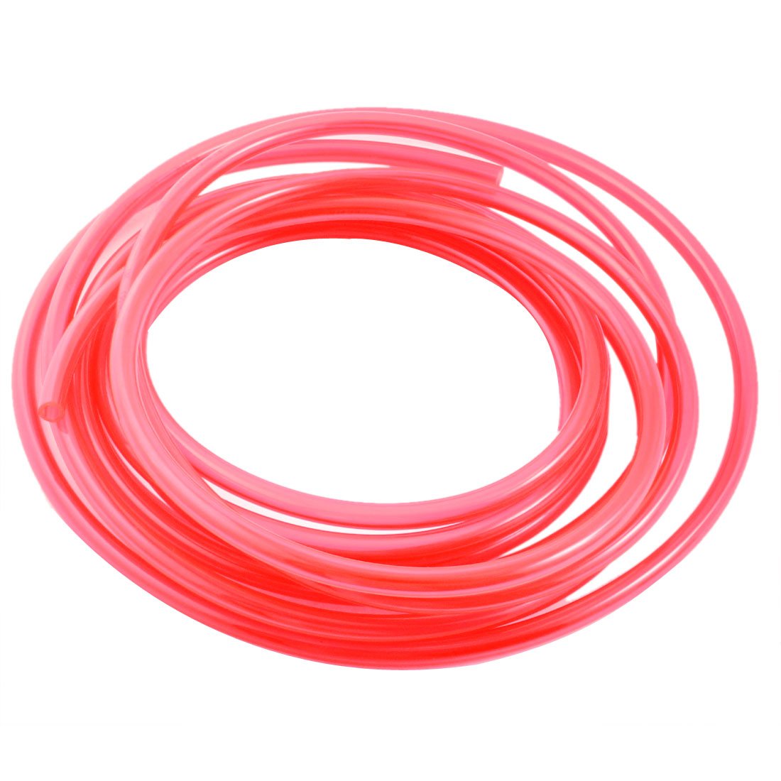 5M 5x8mm Air Compressor Fuel Gas Petrol Diesel PU Line Tube Hose Clear Red