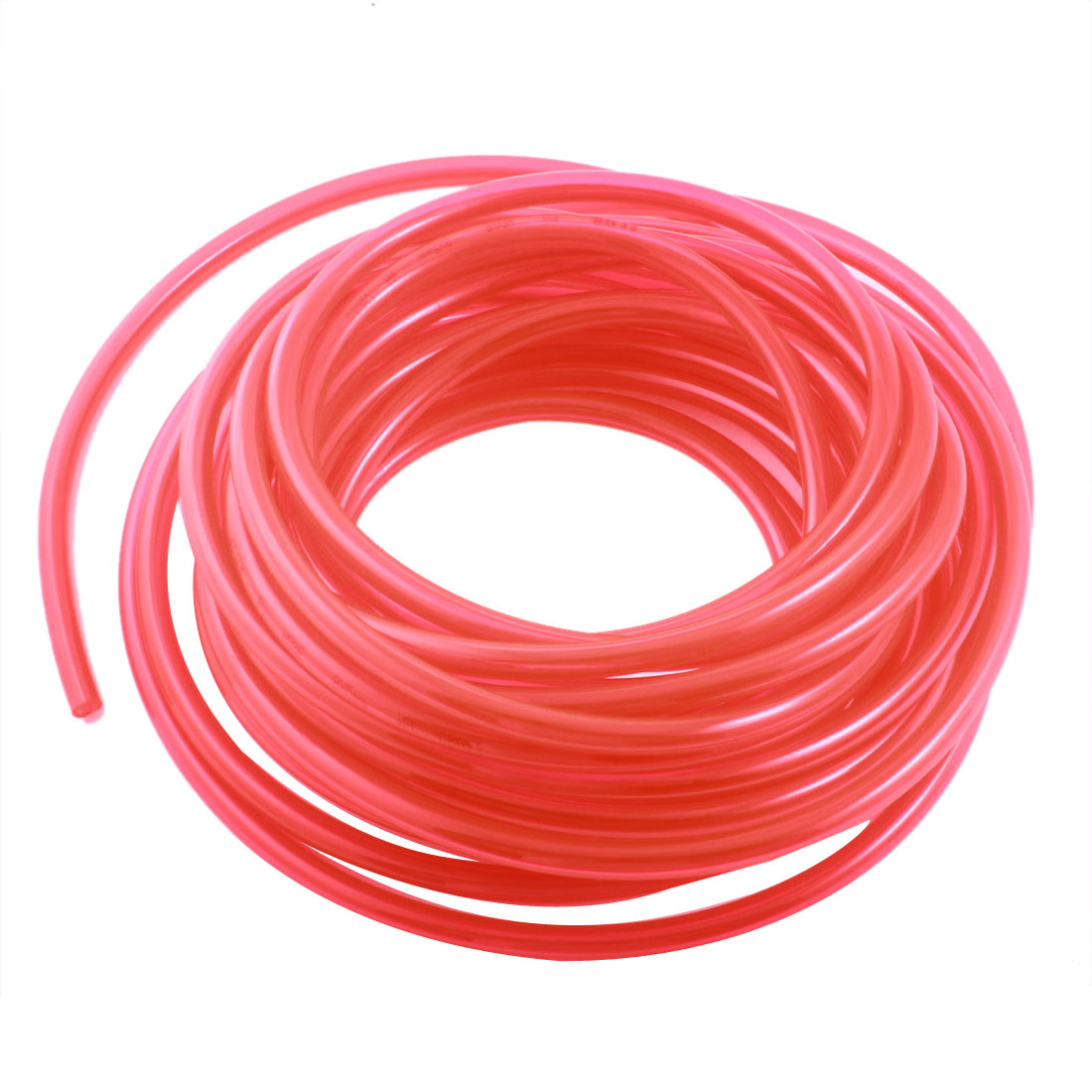 33Ft 5x8mm Air Compressor Fuel Gas Petrol Diesel PU Line Tube Hose Clear Red