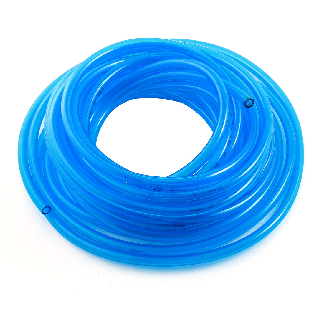33Ft 5x8mm Air Compressor Fuel Gas Petrol Diesel PU Line Tube Hose Clear Blue