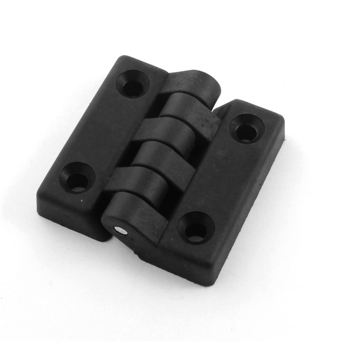 Reinforced Black Nylon Countersunk Hole Butt Door Hinge