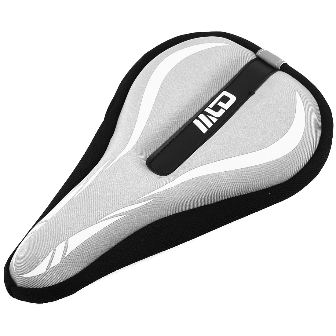Replacing Part Mountain Bike Soft Foam Seat Saddle Cover Gray 30cm Long