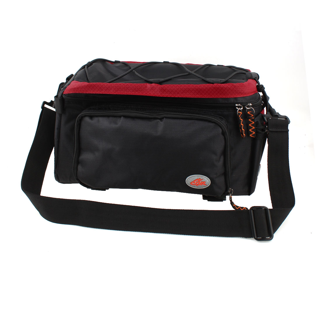 Cycling Bike Bicycle Pannier Rear Seat Bag Shoulder Handbag Black Red