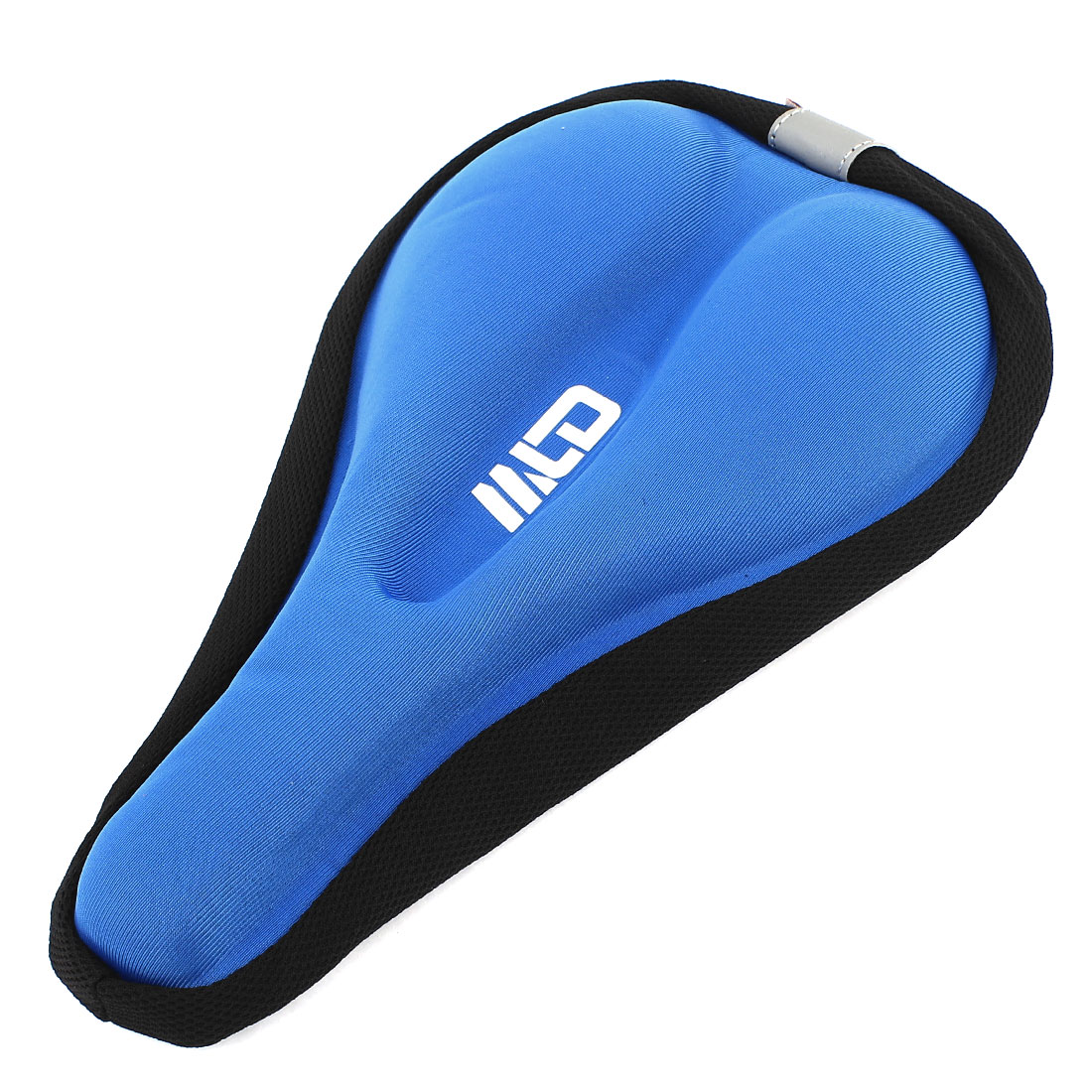 Bike Bicycle Cycle Soft Sponge Pad Cushion Cover Blue for Saddle Seat