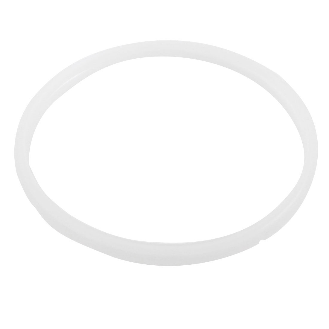 Clear White 23.5cm Inner Dia Gasket Sealing Ring for 7-8L Pressure Cookers