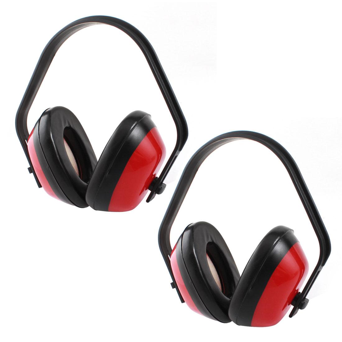 Industrial Sponge Earpad Noise Reduction Ear Muffs Hearing Protector 2PCS