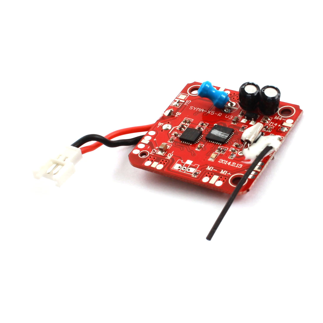 RC Helicopter 30mm Molex51005 Red Receiver PCB Circuit Board Module Spare Part for Syma X5-10