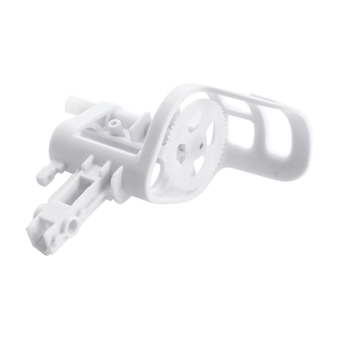 RC Helicopter White Plastic Motor Mount Base Holder Spare Part for Syma X5-05