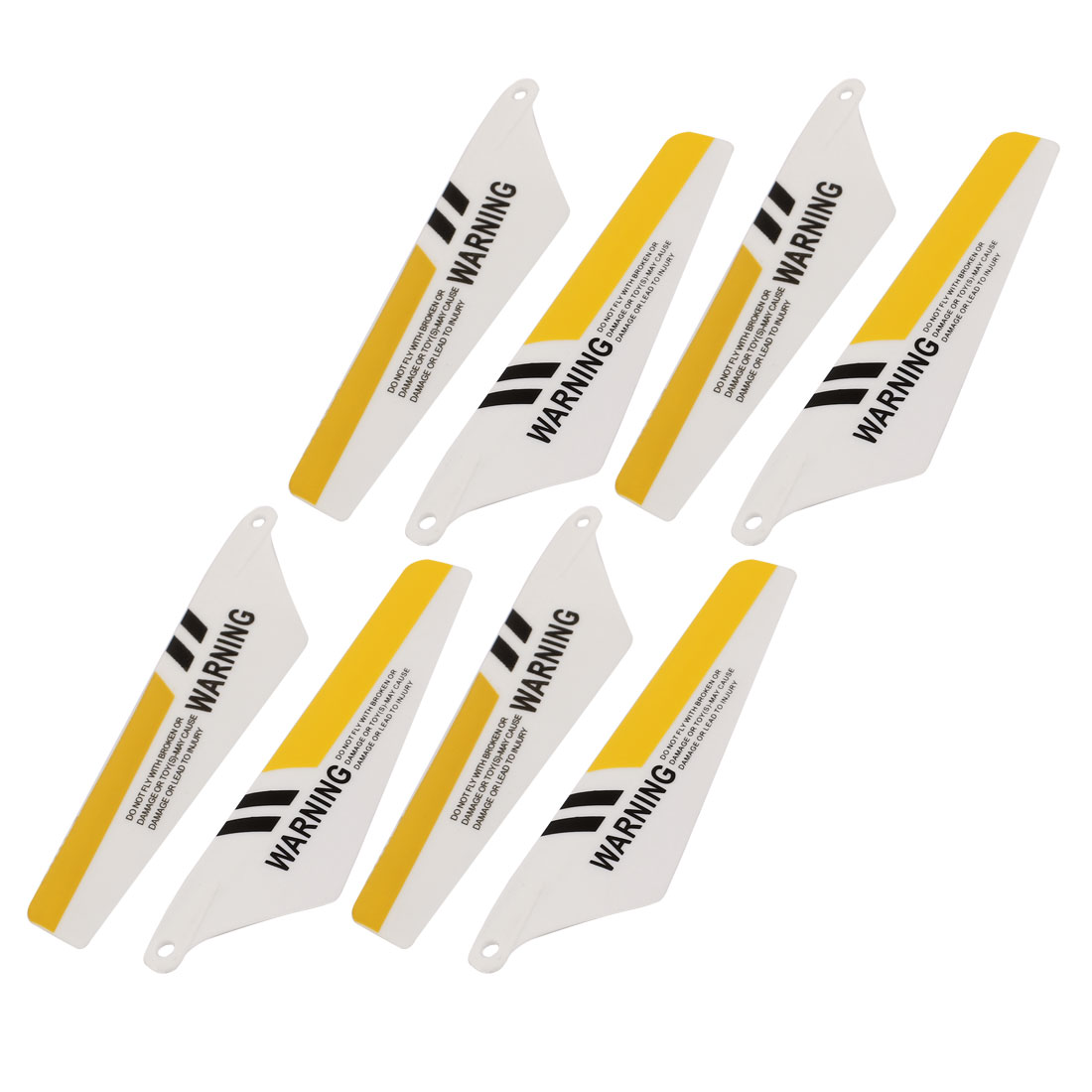 4 Pairs RC Helicopter Upper Lower 4A+4B Main Vane Propeller Spare Part for Syma S107G-03