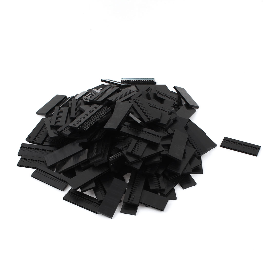 200pcs 15P 2.54mm Housing Jumper Wire Female Pin Connectors