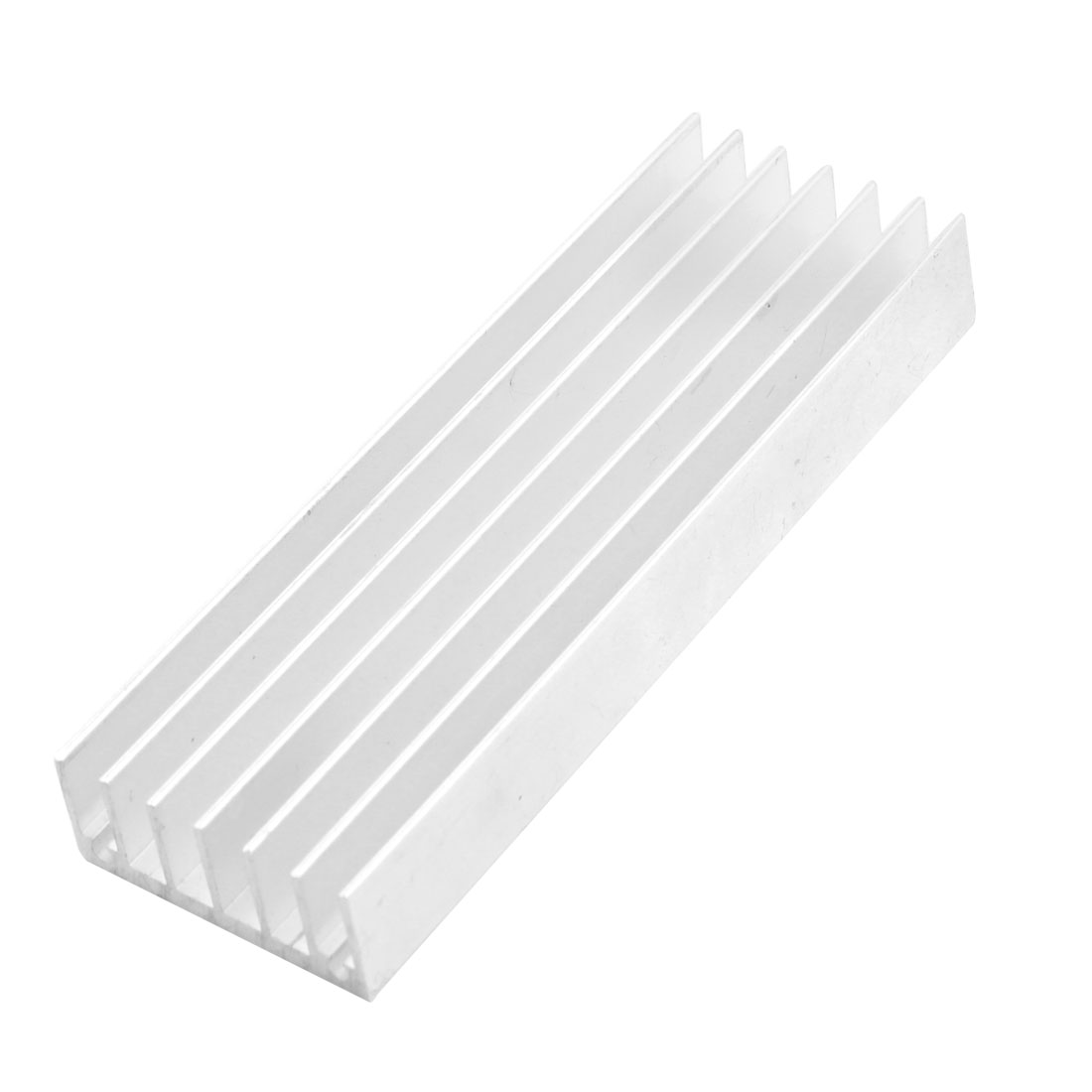 Aluminium Profile Rectangle Heatsink Heat Dissipation Cooling Fin 106mm x 35mm x 15mm