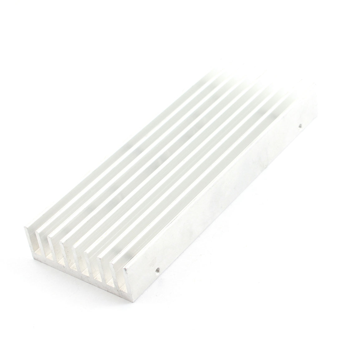 Aluminium Profile Rectangle Silver Tone Heatsink Heat Dissipation Cooler 135mm x 50mm x 17mm