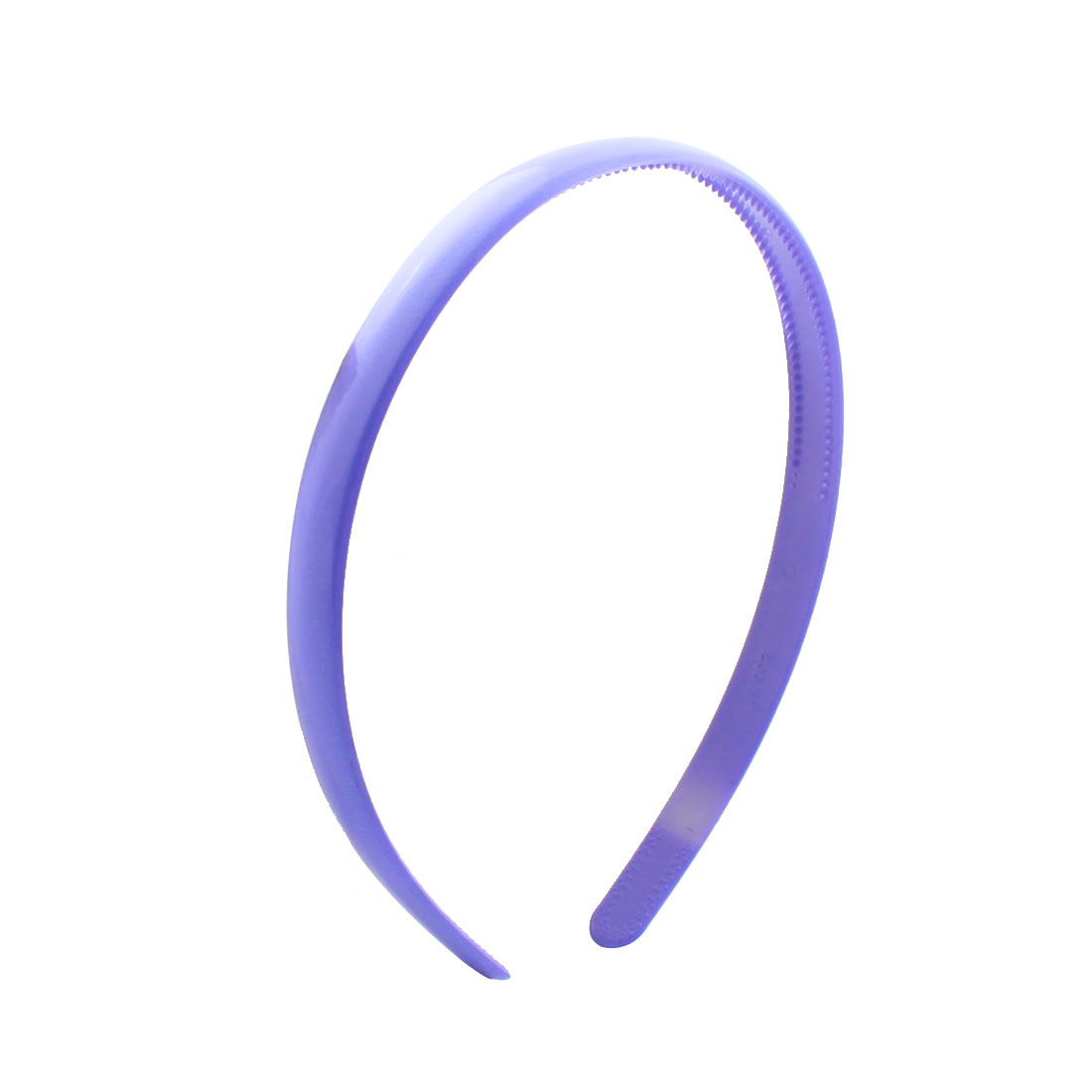 Purple 1.2cm Width Hairdressing Plastic Hair Hoop for Ladies Girls