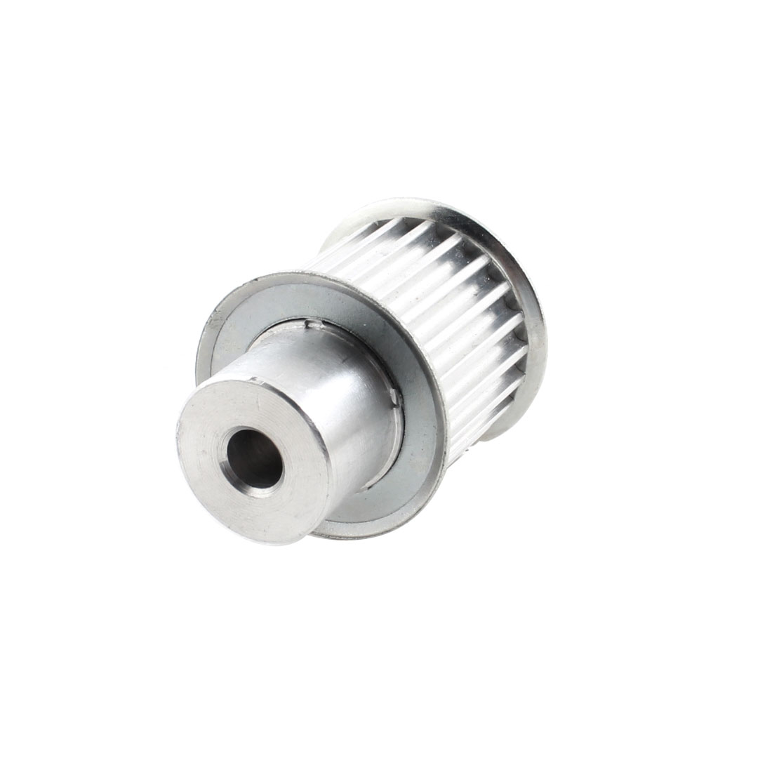 5M 22-Tooth 8mm Pilot Bore 5mm Pitch Aluminum Alloy Dual Flanged Motor Synchronous Timing Pulley for 22mm Width Belt
