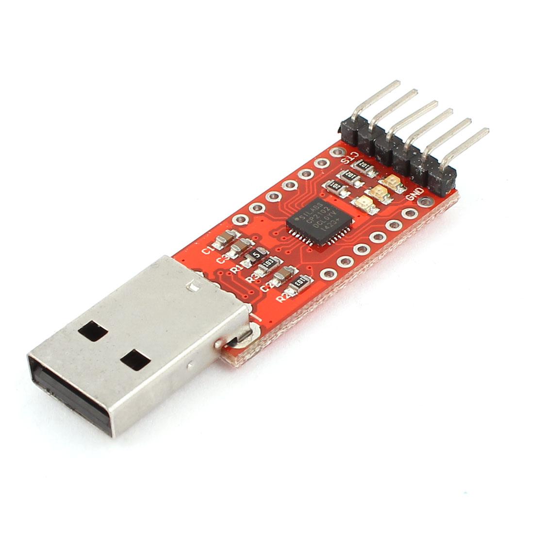 3.3V-5V Electronic USB 2.0 to TTL Converter 6 Pins Module