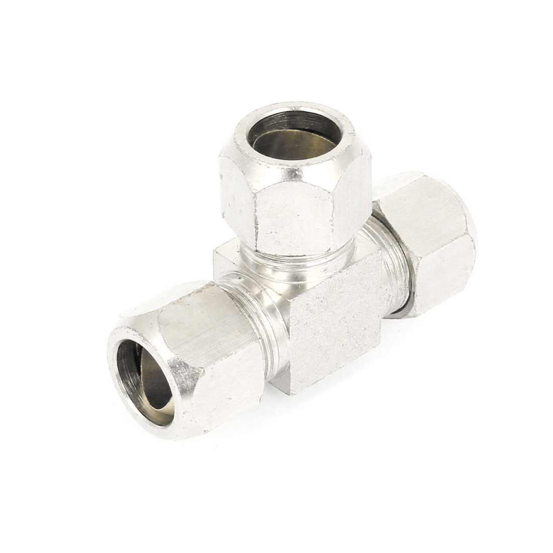 12mm Hose Triple Straight Quick Release Coupler Fitting Joint Pipe Connector Adapter Fastener