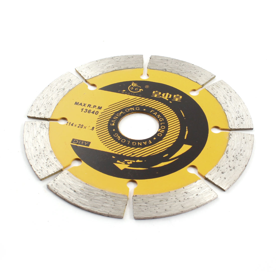 Masonry Ceramic Marble Cutting 114mm Dia Diamond Saw Cutter 13640RPM