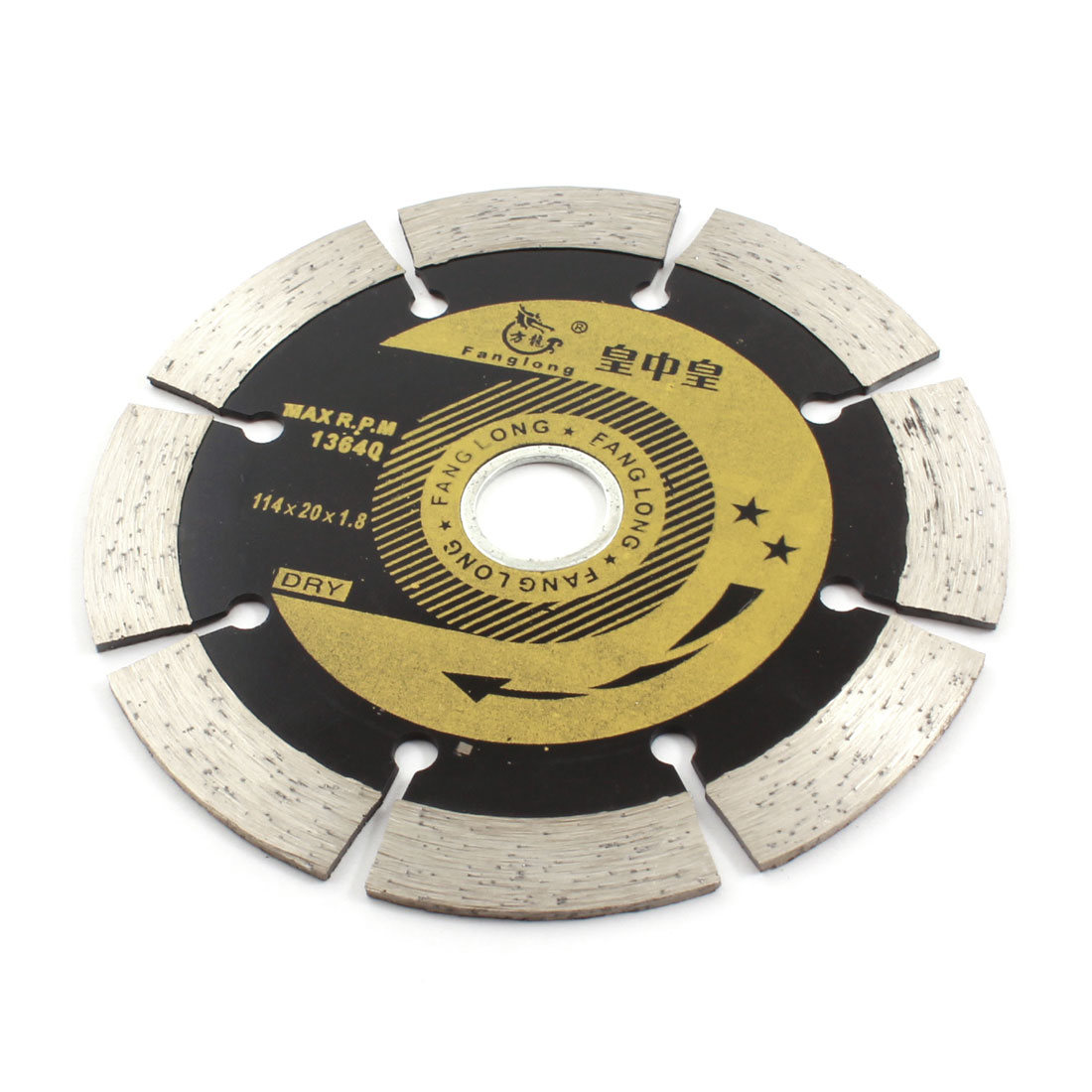 Silver Gray Black Marble Cutting 114mm Dia Diamond Saw Cutter 13640RPM