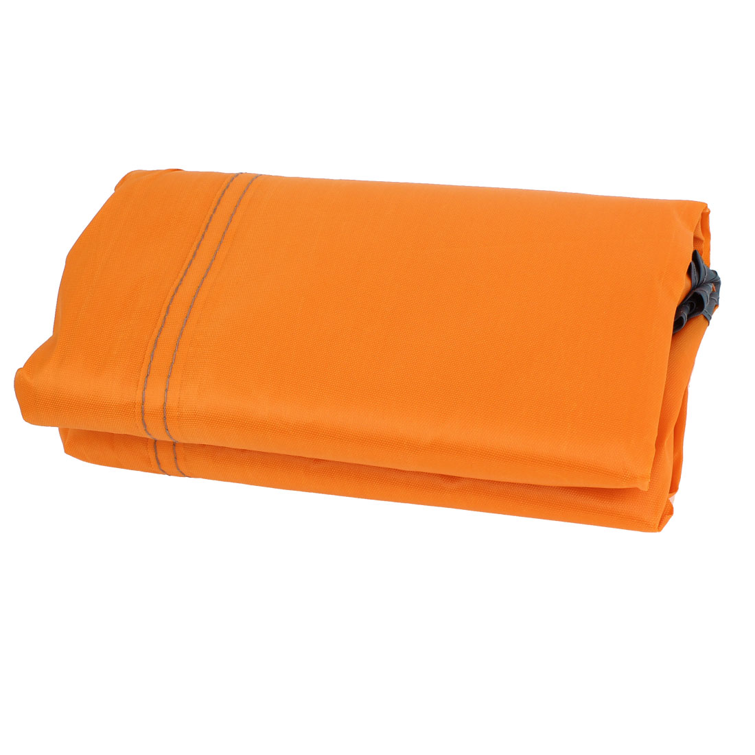 Portable Outdoor Camping Beach Picnic Rain Sun Shelter Tent Mat Cushion Orange 215cm x 215cm