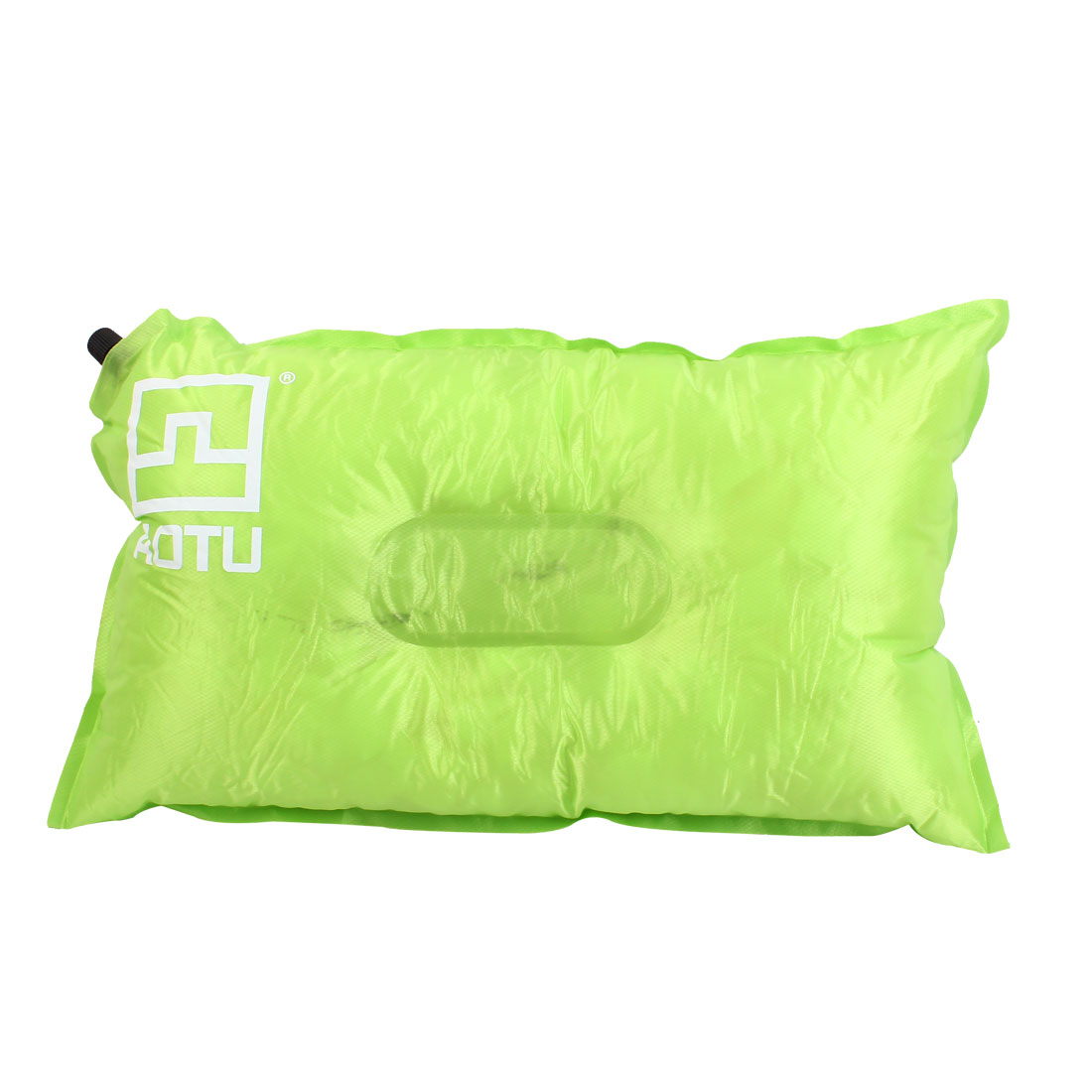 Outdoor Camping Travel Beach Automatic Inflatable Pillow Cushion Mattress Green