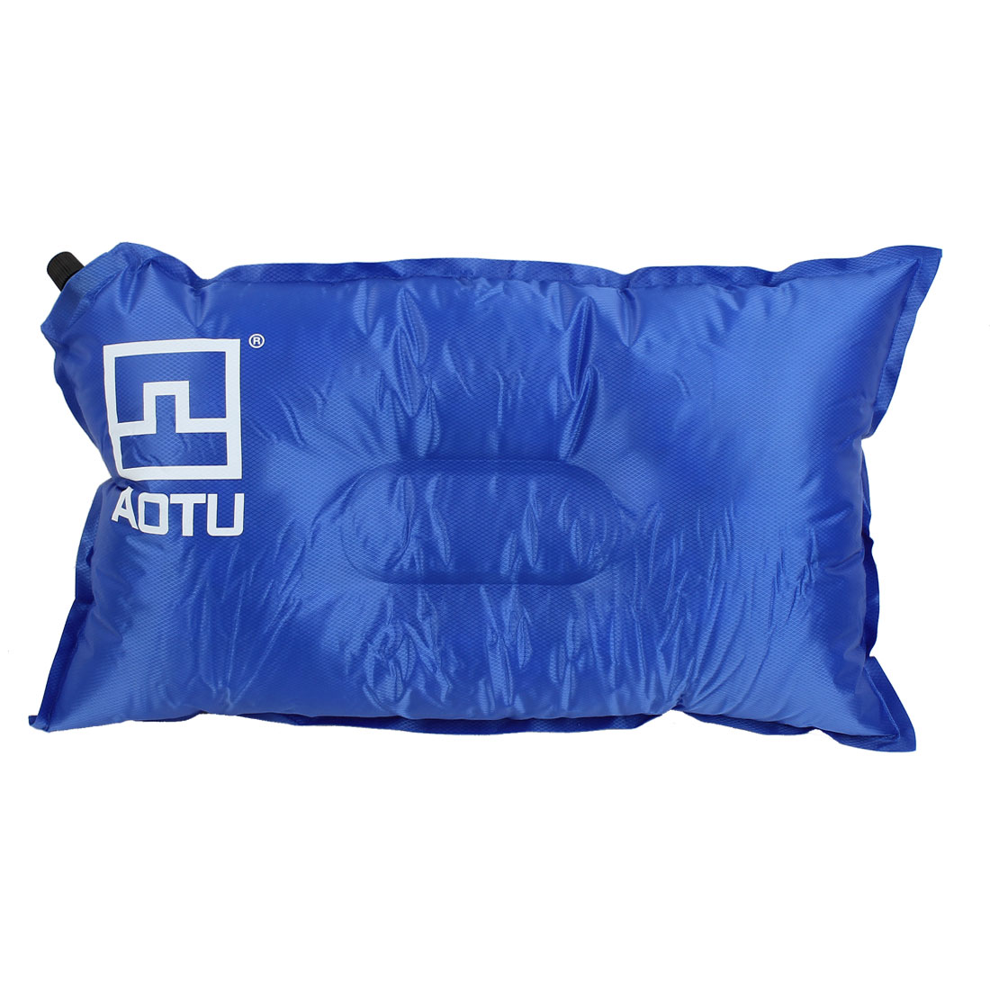Outdoor Camping Travel Beach Automatic Inflatable Pillow Cushion Mattress Blue