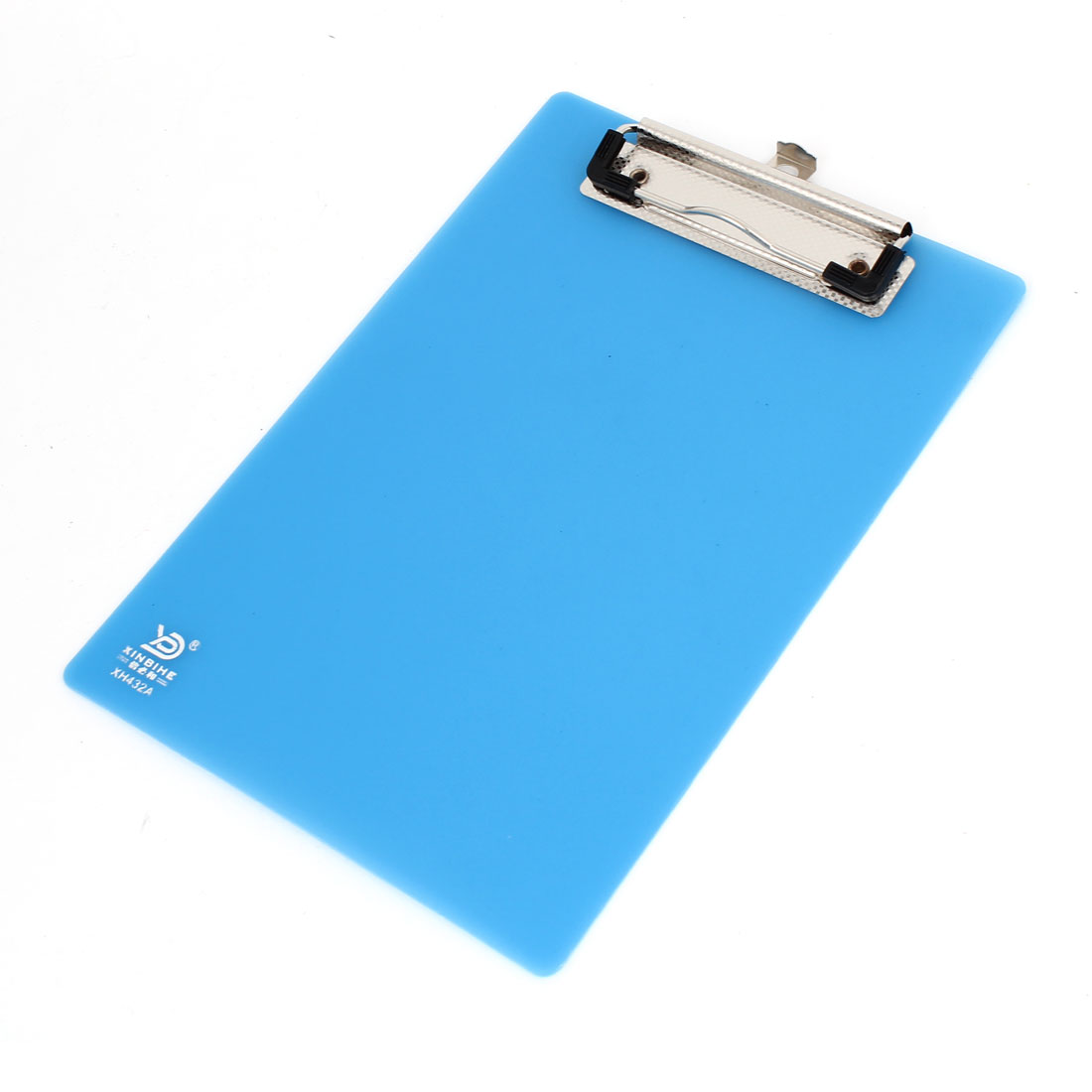 Office A5 Paper Holder Plastic Writing Board Clipboard 230 x 160mm Light Blue