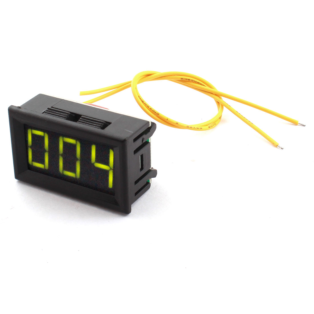 AC12V-380V 7 Segment Green Digits 3-Bits LED Digital Display Panel Gauge Voltmeter Voltage Meter