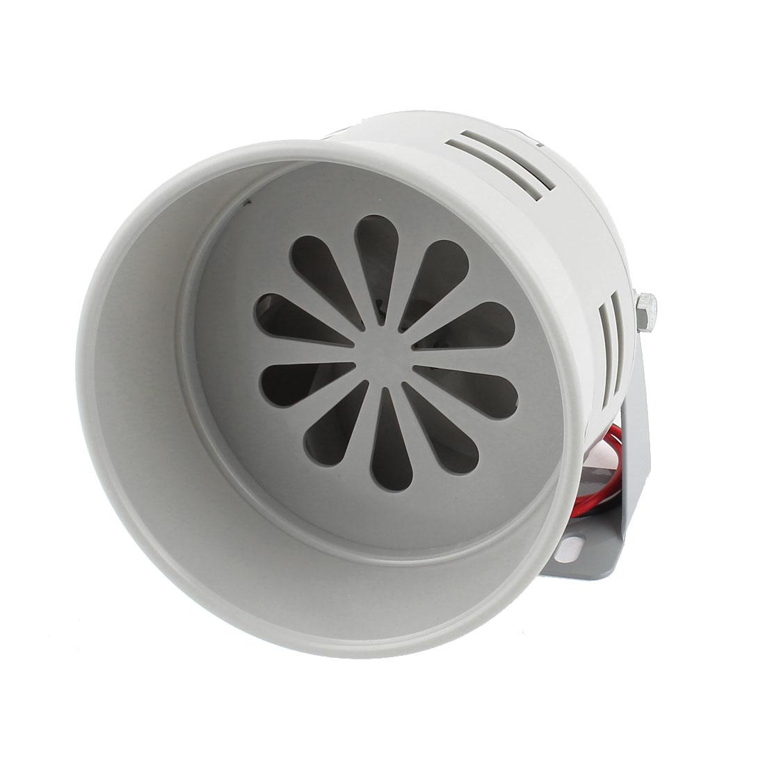 MS-290 Gray Plastic Industrial Alarm Sound Motor Siren Horn 120dB DC 12V