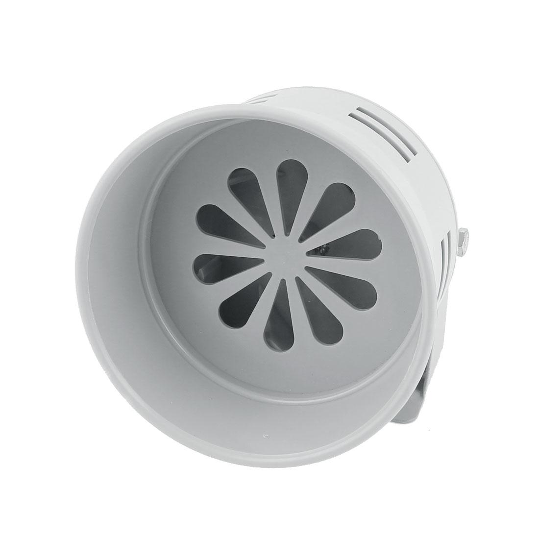MS-290 Gray Plastic Industrial Alarm Sound Motor Siren Horn 130dB DC 24V