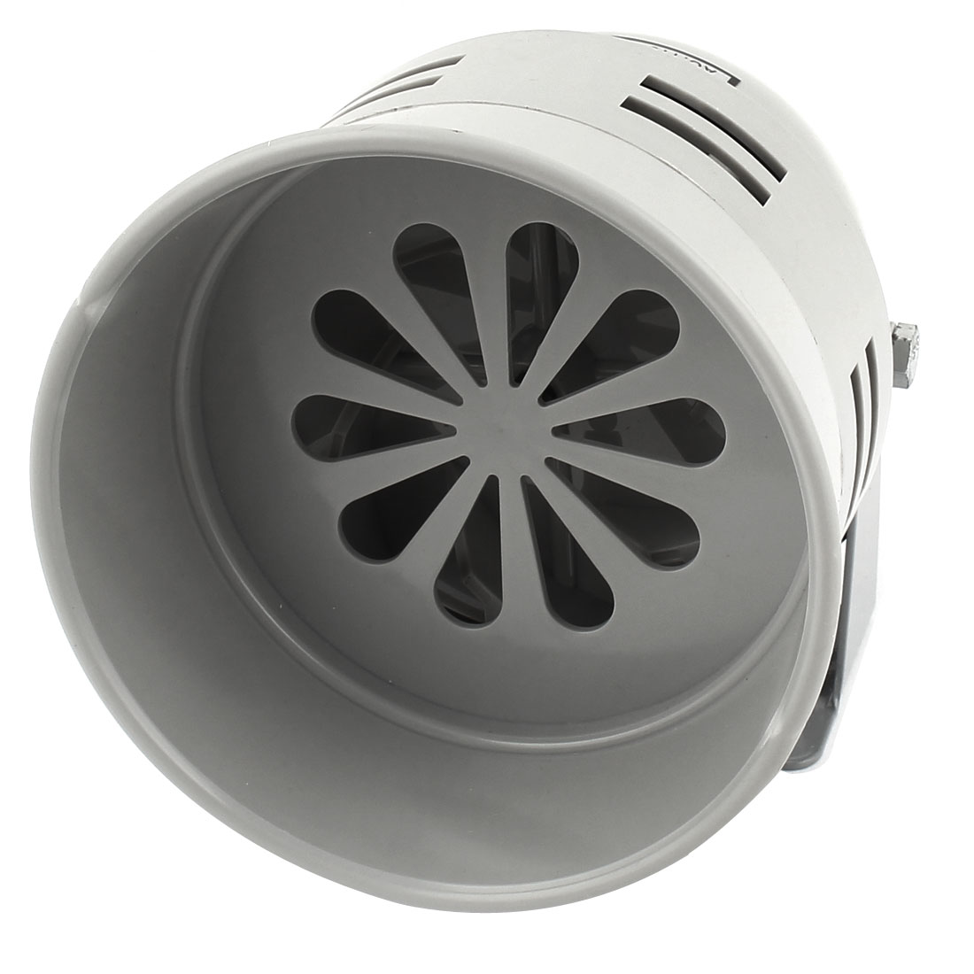 Gray Plastic Industrial Alarm Sound Motor Siren Horn 130dB AC 110V 40W