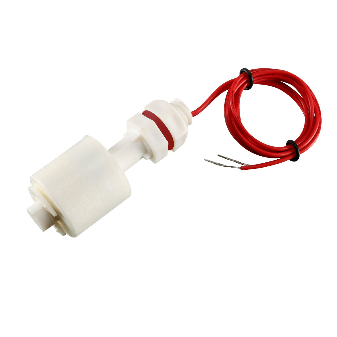 5 Pcs ZP4510 White Plastic Liquid Water Level Sensor Float Floating Switch