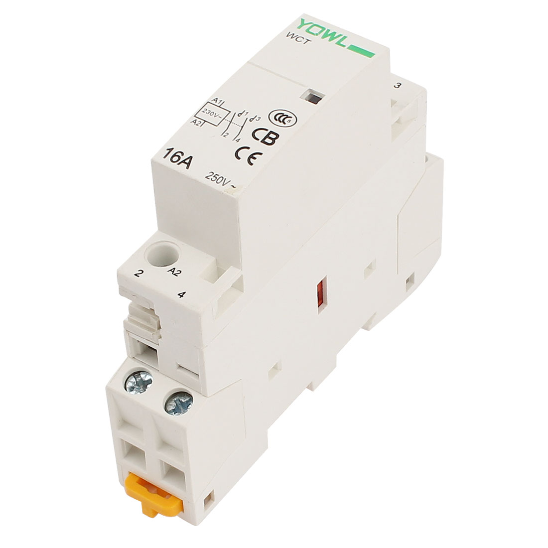 WCT-16A Double Pole Household Electric AC Power Contactor 16A Uc 230V