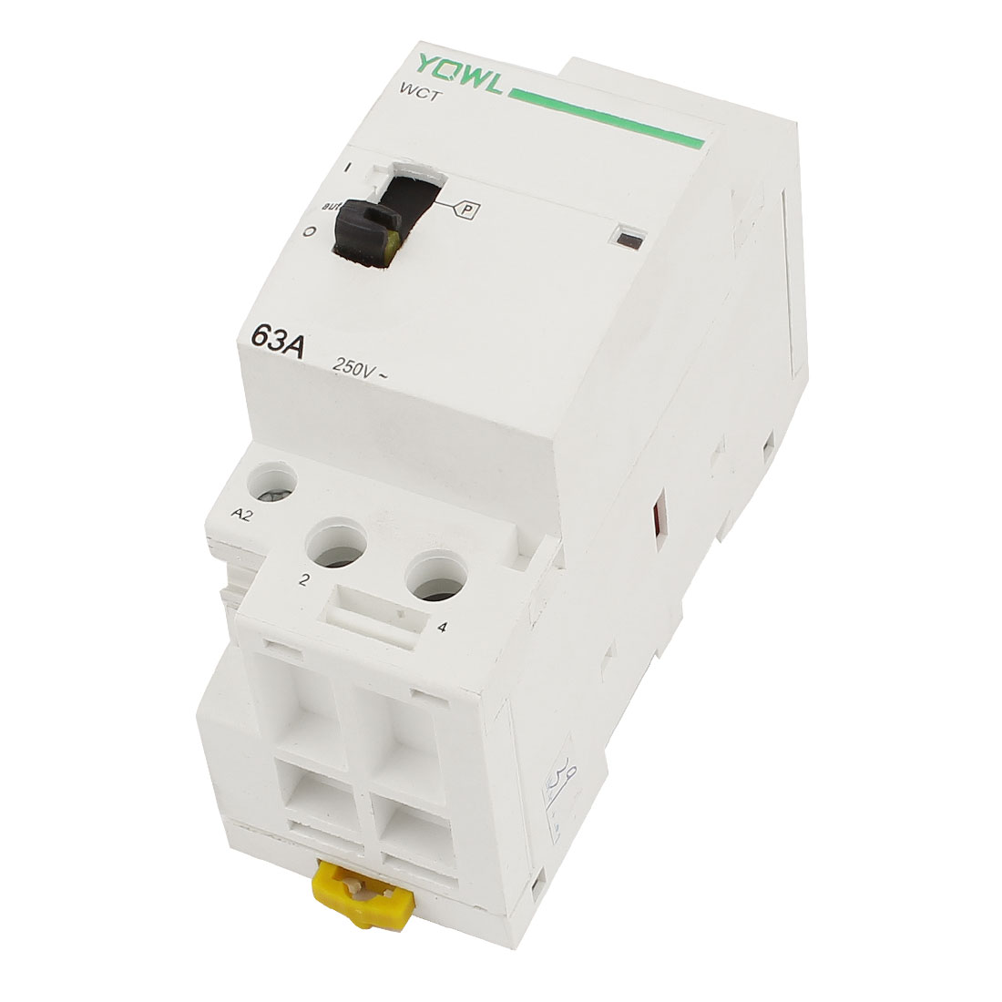 WCT-63A Double Pole Household Electric AC Power Contactor 63A Uc230V