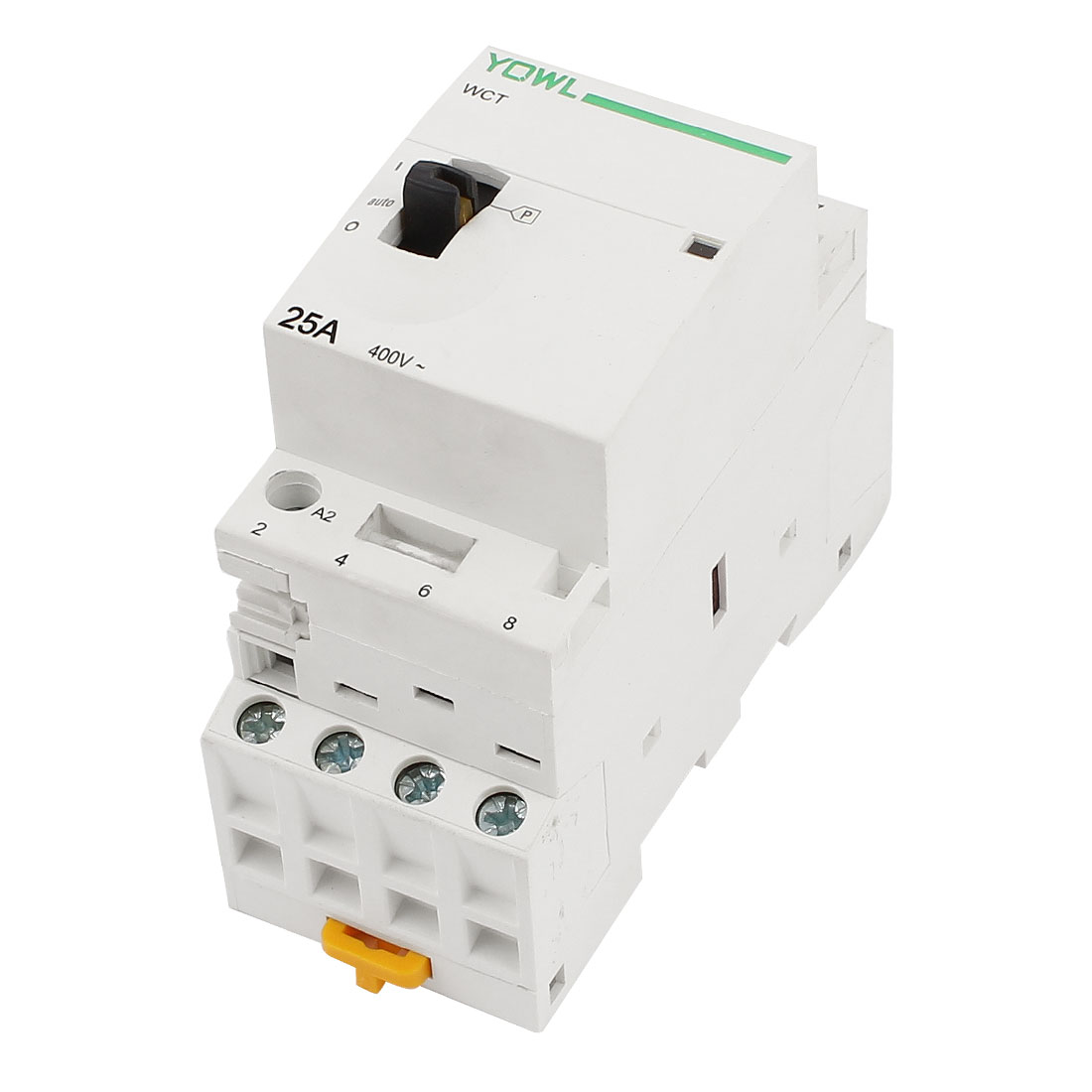 WCT-25A 4-Pole Household Home Electric Power Contactor AC 230V 25A