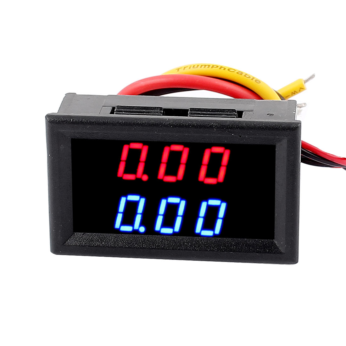 DC 0-100V 10A Panel Red Blue Dual LED Digital Ammeter Voltmeter Volt