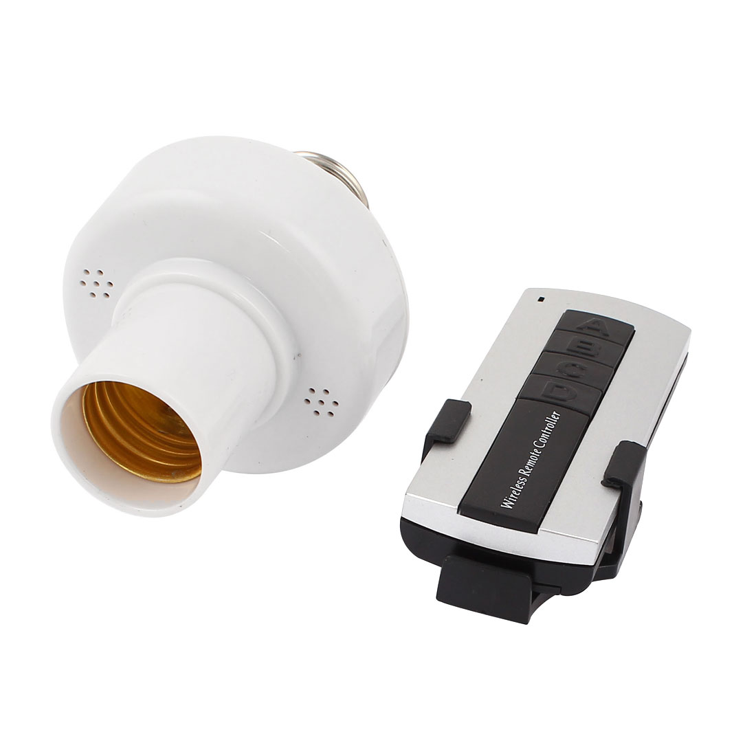 20M Distance Wireless Remote Control Switch E27 Light Lamp Bulb Base Socket
